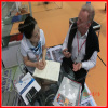 Discussing Product Details with Guangzhou Fair Customer