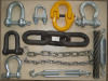 Shackle, Turnbuckle, Hooks, Link Chains, Snap Hook, Wire Rope Clips