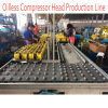 Oilless Air Compressor Head Production Line