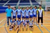 a lovely volleyball team