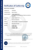 CE certification for LED downlight and fire rated downlight