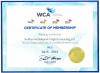 CERTIFICATE of WCA MEMBERSHIP