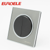 Round shape arcylic wall switch