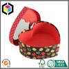 Heart Shape Rigid Cardboard Gift Box with Window