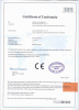 Certificate for BAIXIN MACHINERY CO.,LTD