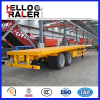 China new 2 axles 20ft container trailer for Sale