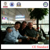 Mr Li with client from Denmark