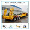 3 Axles owbed semi trailer