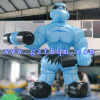 Cartoon Inflatable Muscle Man for Advertising/inflatable cartoon model