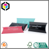 Silver Logo Print Pillow Paper Packaging Box