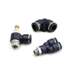 Pneumatic pipe fittings hose connector