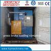 WC67Y-160x3200 hydraulic steel plate bending machine loading container