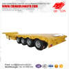 48ft container 60 tons low bed trailer with BPW axle