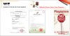 Food Machine Certificate