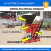WANTE BRAND WT1-25/WT2-25 Eco brava interlock brick making machine deliveirng to Tanzania