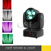 Cheap 3X15W Zoom Moving Head Beam LED Stage Light