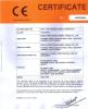JW31-200 straight side press ce certificate