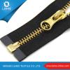 Jacket Gold Metal Brass Paint Metal Zipper