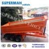 Heavy Truck Tri-Axle Dump Trailer 25cbm End Tipper Semi Trailer