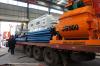 Export concrete mixer JS500 to Uzbekistan