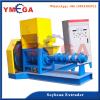 Corn and soybean extruder machine