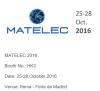 Matelec 2016- Madrid Spain