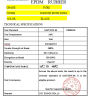 The Test Report of EPDM Rubber Sheet
