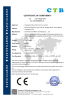 CE certificate of USB Charger