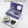DIY Pearl Jewelry Gift Single Necklace Set for Love Pearl and Wish Pearl