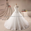 Customized Bridal Ball Gown Strapless Tulle Lace Wedding Dresses Gowns Manufacturer
