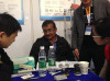 Bangladesh customers visit our booth for business