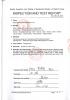 TEST REPORT FOR METAL-OXIDE VARISTOR