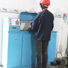 Steel wire torsion testing equipment
