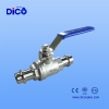 double press end 2 PC ball valve