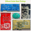 Different Solder Mask Printings