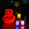 Multiple Colors Flameless LED Candle Electronic Candles for Halloween or Decoration