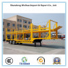 Car carrier transport semi trailer