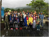 EWIN people went hiking for 30 kilometers despite the rain