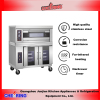 New Stainless Steel Commercial Oven with Proofer proover