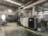 Single Screw Extruder recycling pelletizing machine running test sucessfully