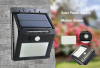 Solar Wall Light, Security Light
