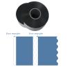 Wave cut metallized polypropylene & Polyester film