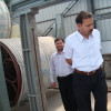 Pakistan customers to our company for toilet paper machine