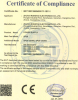 CE Certificate for DIN Power Supply