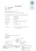 FDA Test Report for EPDM70 from TUV-SUD