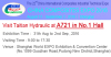 2016 China Composites Expo in Shanghai (Booth No: A721 Hall1)