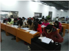 Aribic Traning at Heng Xing Office Furniture
