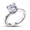 custom cz engagement ring