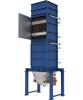 Application of powder flow heat exchanger
