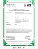 CE Certificate of LED Bar Light